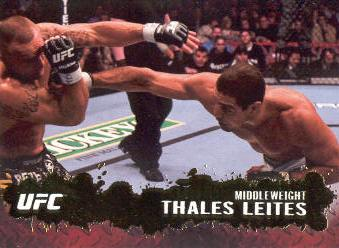 2009 Topps UFC Gold #63 Thales Leites