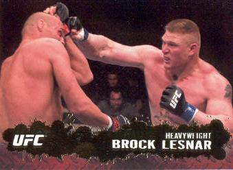 2009 Topps UFC Gold #69 Brock Lesnar
