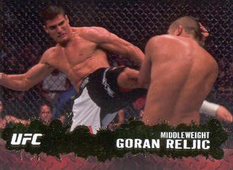 2009 Topps UFC Gold #76 Goran Reljic