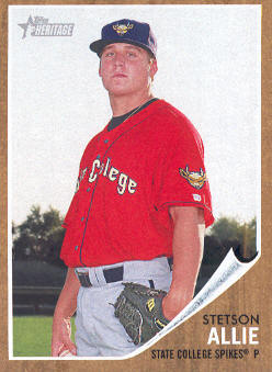 2011 Topps Heritage Minors #2 Stetson Allie