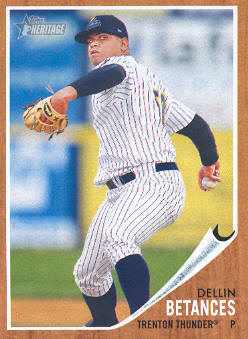2011 Topps Heritage Minors #5 Dellin Betances