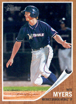 2011 Topps Heritage Minors #6 Wil Myers