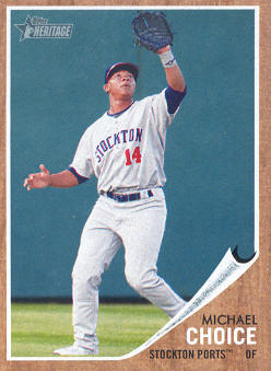2011 Topps Heritage Minors #7 Michael Choice