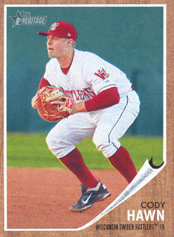 2011 Topps Heritage Minors #17 Cody Hawn