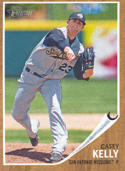 2011 Topps Heritage Minors #22 Casey Kelly
