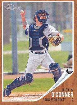 2011 Topps Heritage Minors #24 Justin O'Conner