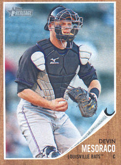 2011 Topps Heritage Minors #27 Devin Mesoraco