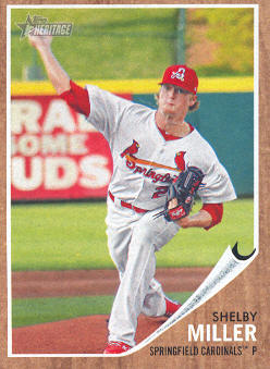 2011 Topps Heritage Minors #28 Shelby Miller