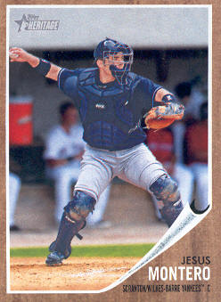 2011 Topps Heritage Minors #29 Jesus Montero