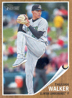 2011 Topps Heritage Minors #32 Taijuan Walker