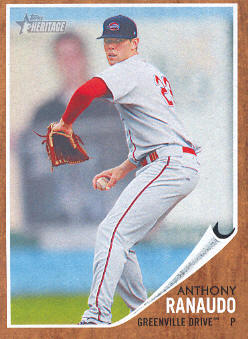 2011 Topps Heritage Minors #34 Anthony Ranaudo
