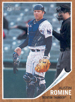 2011 Topps Heritage Minors #36 Austin Romine