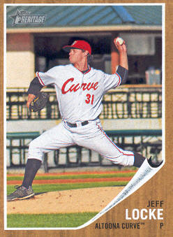 2011 Topps Heritage Minors #41 Jeff Locke