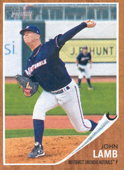 2011 Topps Heritage Minors #43 John Lamb