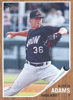 2011 Topps Heritage Minors #51 Austin Adams