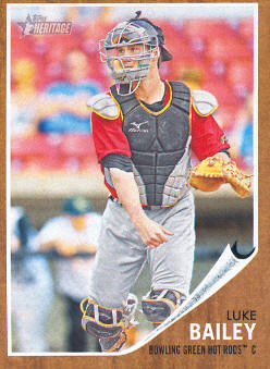 2011 Topps Heritage Minors #56 Luke Bailey