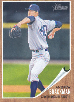 2011 Topps Heritage Minors #67 Andrew Brackman