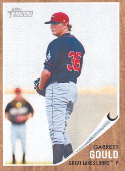 2011 Topps Heritage Minors #78 Garrett Gould