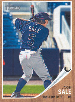 2011 Topps Heritage Minors #80 Josh Sale