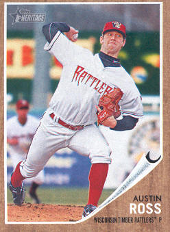 2011 Topps Heritage Minors #87 Austin Ross