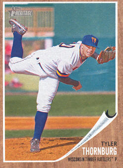 2011 Topps Heritage Minors #88 Tyler Thornburg