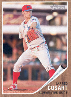 2011 Topps Heritage Minors #89 Jarred Cosart