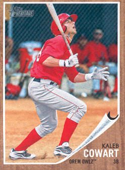 2011 Topps Heritage Minors #90 Kaleb Cowart
