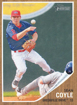 2011 Topps Heritage Minors #91 Sean Coyle