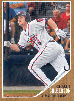 2011 Topps Heritage Minors #92 Charlie Culberson