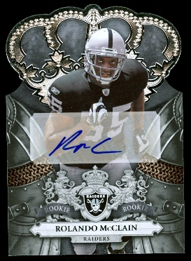 2010 Crown Royale #213 Rolando McClain AU/499 RC