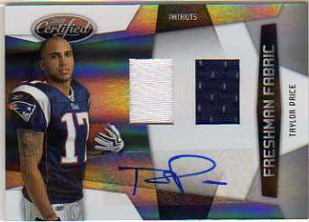 2010 Certified #303 Taylor Price JSY AU/699 RC