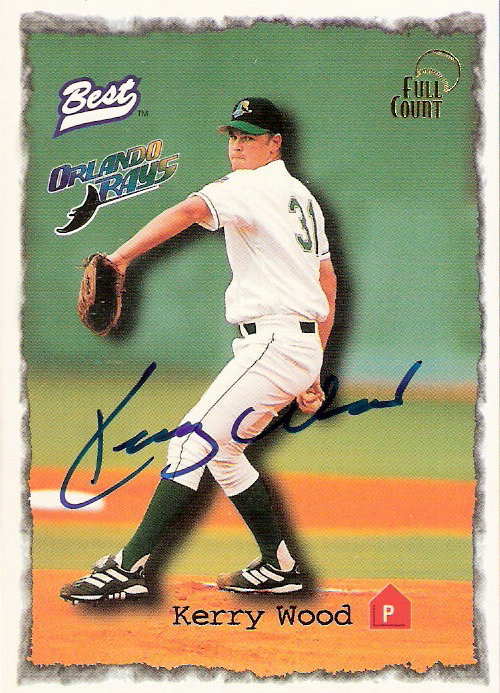 1997 Best Full Count Autographs #23 Kerry Wood
