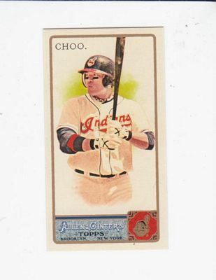 2011 Topps Allen and Ginter Mini #378 Shin-Soo Choo EXT front image