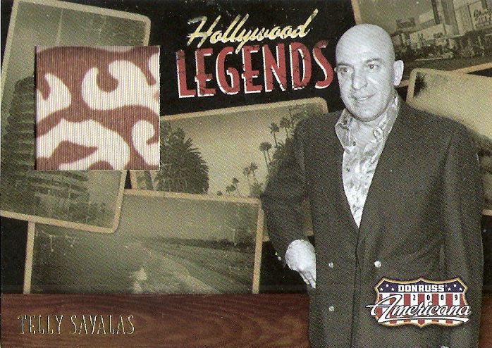2009 Americana Hollywood Legends Material #20 Telly Savalas/500