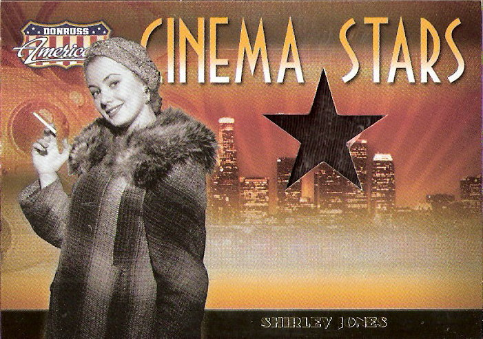 2007 Americana Cinema Stars Material #11 Shirley Jones Skirt/500