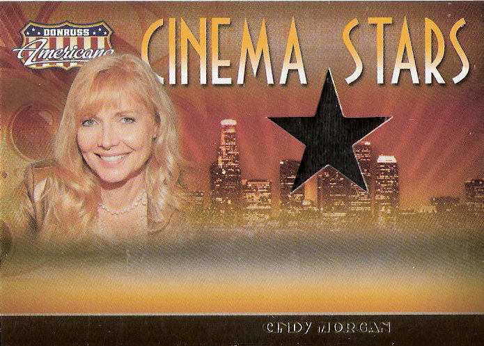 2007 Americana Cinema Stars Material #18 Cindy Morgan Shirt/500