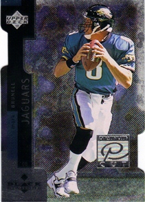 1998 Black Diamond Premium Cut #PC21 Mark Brunell
