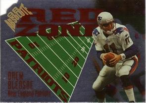 1998 Absolute Red Zone Die Cut #11 Drew Bledsoe