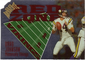 1998 Absolute Red Zone Die Cut #14 Brad Johnson