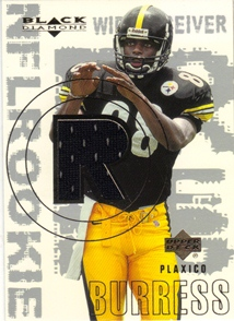 2000 Black Diamond #170 Plaxico Burress JSY RC