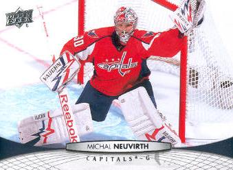 2011-12 Upper Deck #11 Michal Neuvirth