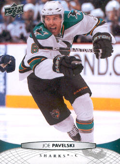 2011-12 Upper Deck #41 Joe Pavelski