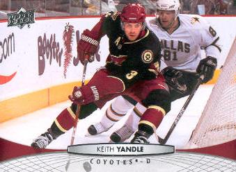 2011-12 Upper Deck #54 Keith Yandle