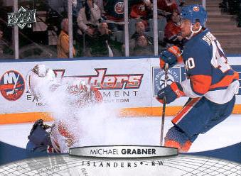 2011-12 Upper Deck #81 Michael Grabner