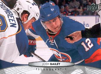 2011-12 Upper Deck #85 Josh Bailey