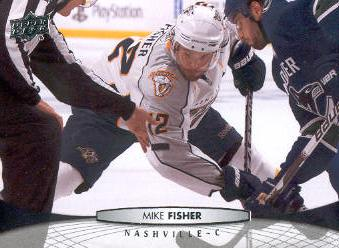 2011-12 Upper Deck #98 Mike Fisher