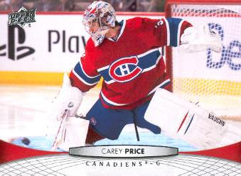 2011-12 Upper Deck #99 Carey Price