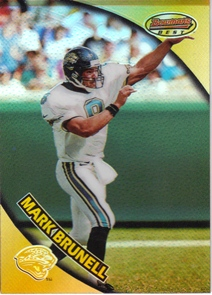 1997 Bowman's Best Refractors #32 Mark Brunell