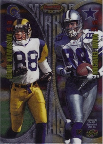 1997 Bowman's Best Mirror Images #MI9 Michael Irvin/Eddie Kennison/Carl Pickens/Keyshawn Johnson