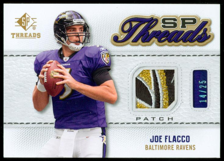2009 SP Threads SP Threads Patch #TJF Joe Flacco